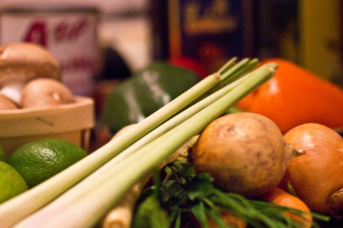 wieder viel Gemüse