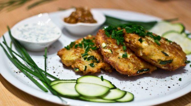 Zucchinilaibchen - Mahlzeit