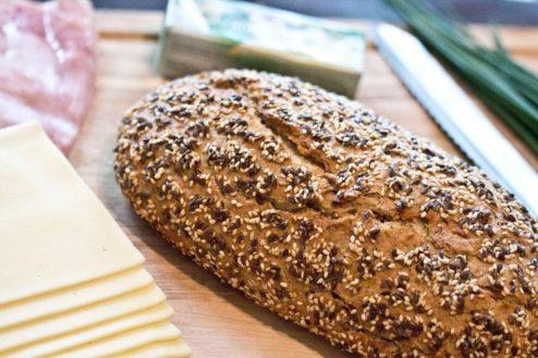 Ein knuspriges Brot eignet sich gut